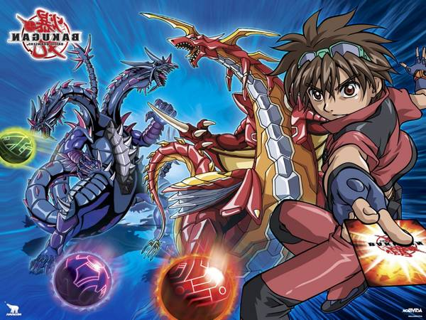 Valise bakugan ou bakugan all seasons | Composition